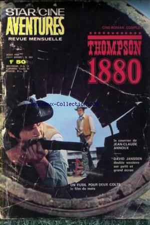 STAR CINE AVENTURES no:203 01/08/1968