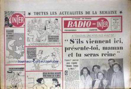 RADIO INTER no:3 19/04/1950