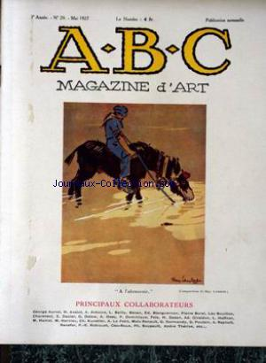 ABC MAGAZINE D'ART no:29 01/05/1927