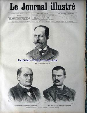 JOURNAL ILLUSTRE (LE) no:25 20/06/1886