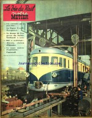 VIE DU RAIL (LA) no:331 14/01/1952