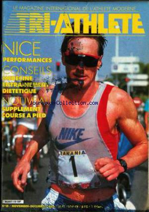 TRI ATHLETE no:15 01/11/1986