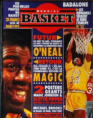 MONDIAL BASKET no:12 01/03/1992