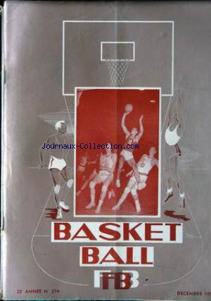 BASKET BALL no:274 01/12/1954