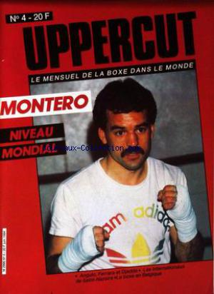 UPPERCUT no:4 01/06/1984