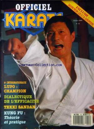 OFFICIEL KARATE no:51 01/02/1989