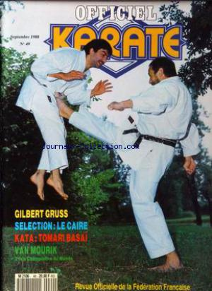 OFFICIEL KARATE no:49 01/09/1988