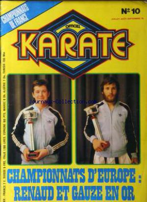 OFFICIEL KARATE no:10 01/07/1978
