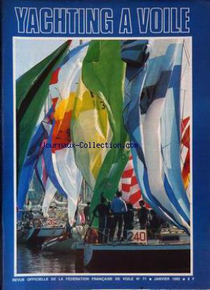 YACHTING A VOILE no:71 01/01/1982