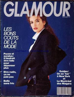 GLAMOUR no:8 01/11/1988