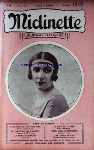 MIDINETTE no:18 18/03/1927