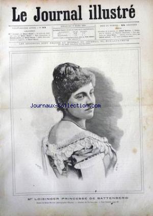 JOURNAL ILLUSTRE (LE) no:11 17/03/1889