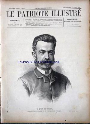 PATRIOTE ILLUSTRE (LE) no:12 22/03/1891