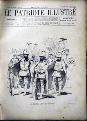 PATRIOTE ILLUSTRE (LE) no:18 03/05/1891