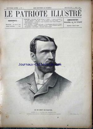 PATRIOTE ILLUSTRE (LE) no:22 31/05/1891