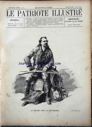 PATRIOTE ILLUSTRE (LE) no:23 07/06/1891