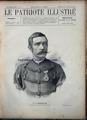 PATRIOTE ILLUSTRE (LE) no:27 05/07/1891