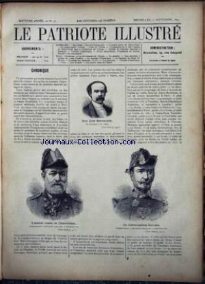 PATRIOTE ILLUSTRE (LE) no:36 06/09/1891