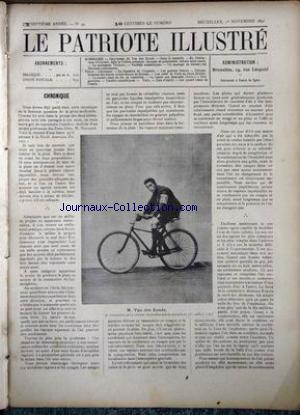 PATRIOTE ILLUSTRE (LE) no:44 01/11/1891