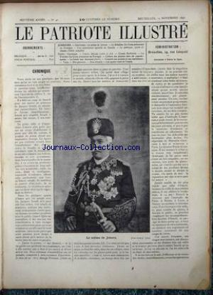 PATRIOTE ILLUSTRE (LE) no:46 15/11/1891