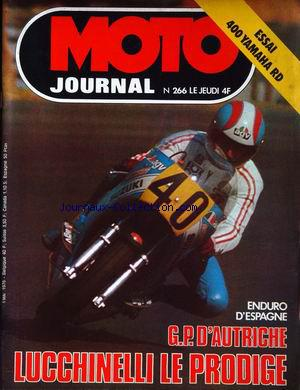 MOTO JOURNAL no:266 06/05/1976