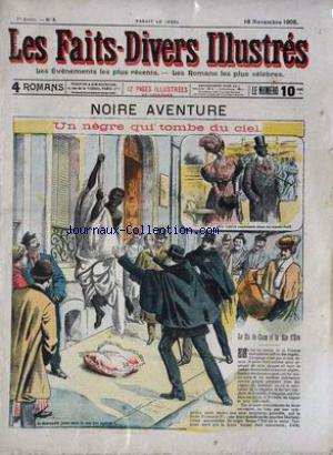 FAITS DIVERS ILLUSTRES (LES) no:4 16/11/1905