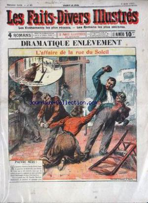 FAITS DIVERS ILLUSTRES (LES) no:41 02/08/1906