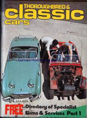 THOROUGHBRED AND CLASSIC CARS no: 01/10/1976