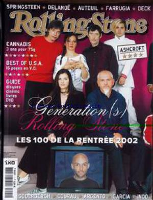 ROLLING STONE no:1 01/10/2002