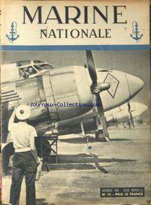 MARINE NATIONALE no:13 01/11/1945