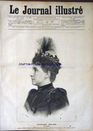 JOURNAL ILLUSTRE (LE) no:47 22/11/1891
