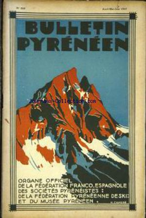 BULLETIN PYRENEEN no:224 01/04/1937