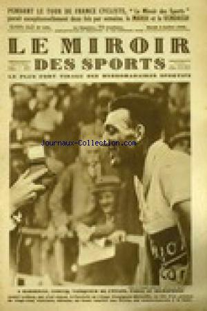 Miroir des sports le no 435 01 12 1953 mus e de la presse for Miroir des sports