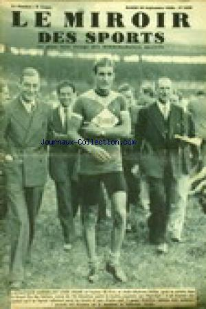 MIROIR DES SPORTS (LE) no:1029 20/09/1938