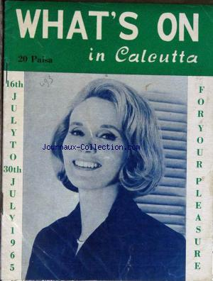 WHAT'S ON IN CALEUTTA no: 16/07/1935