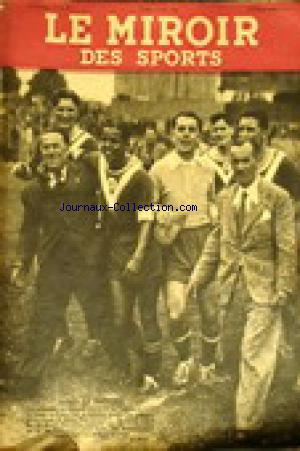 MIROIR DES SPORTS (LE) no:7 19/05/1941