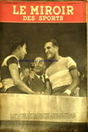 MIROIR DES SPORTS (LE) no:19 11/08/1941
