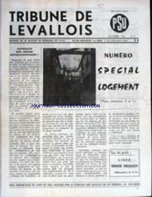 TRIBUNE DE LEVALLOIS no:2 01/12/1970