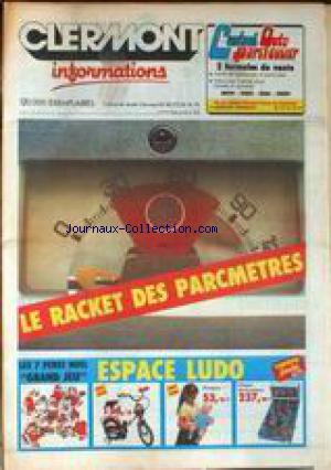 CLERMONT INFORMATIONS no:3 01/12/1982
