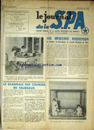 JOURNAL DE LA S.P.A (LE) no:6 01/07/1956