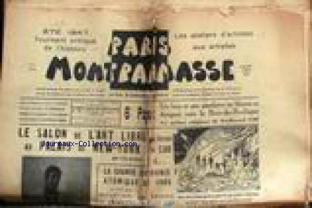 PARIS MONTPARNASSE no: 01/07/1947
