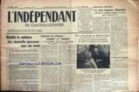 INDEPENDANT DE CHATEAU GONTIER (L') no:15 09/04/1960