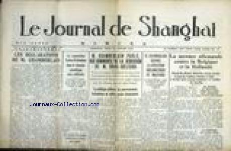 JOURNAL DE SHANGHAI (LE) no:17 18/01/1940