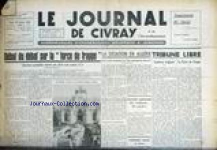JOURNAL DE CIVRAY (LE) no:42 20/01/1960