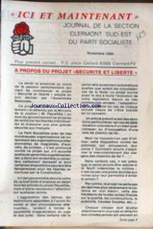 ICI COLOMBES no: 01/11/1980