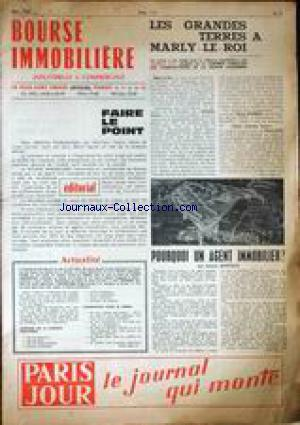 BOURSE IMMOBILIERE no:5 01/05/1963