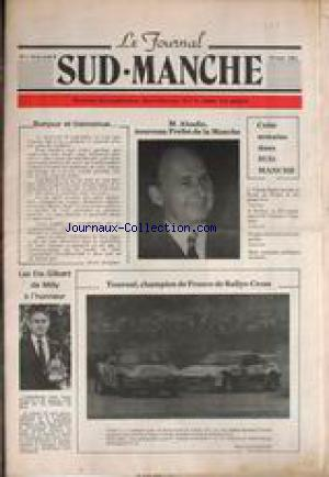 JOURNAL SUD - MANCHE (LE) no:1 16/09/1981