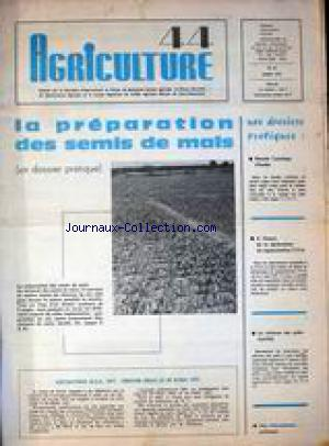 AGRICULTURE 44 no:31 01/03/1977