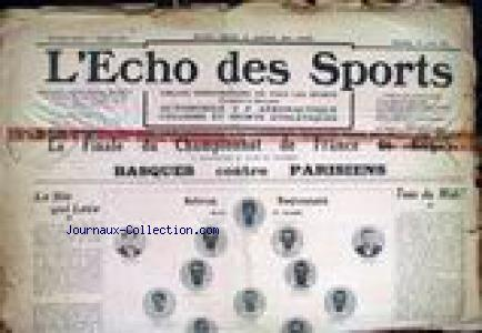 ECHO DES SPORTS (L') no:449 20/04/1913