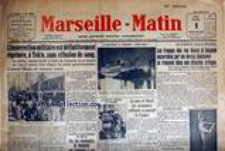 MARSEILLE - MATIN no:1757 01/03/1936